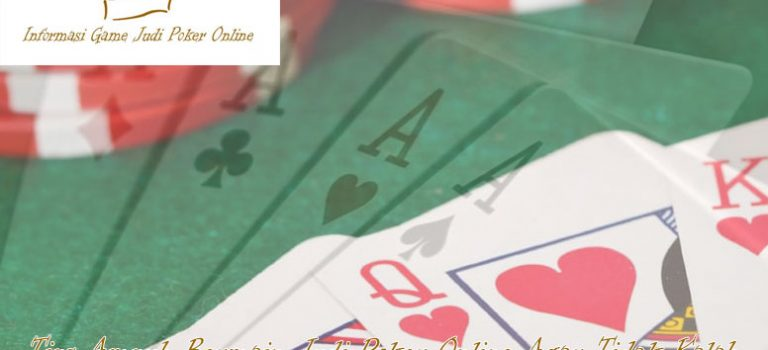 Poker Online Agar Tidak Kalah - Hermanthegermanfriendshipcake